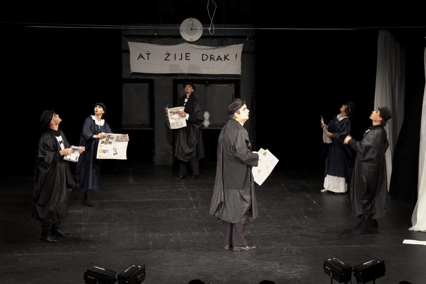 Výsledek obrázku pro divadlo v celetné zabít draka
