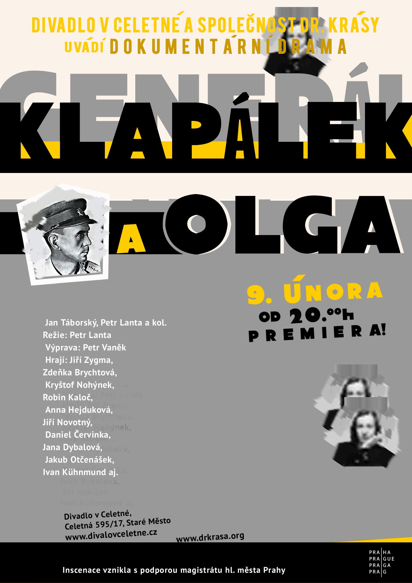 Generál Klapálek (a Olga)