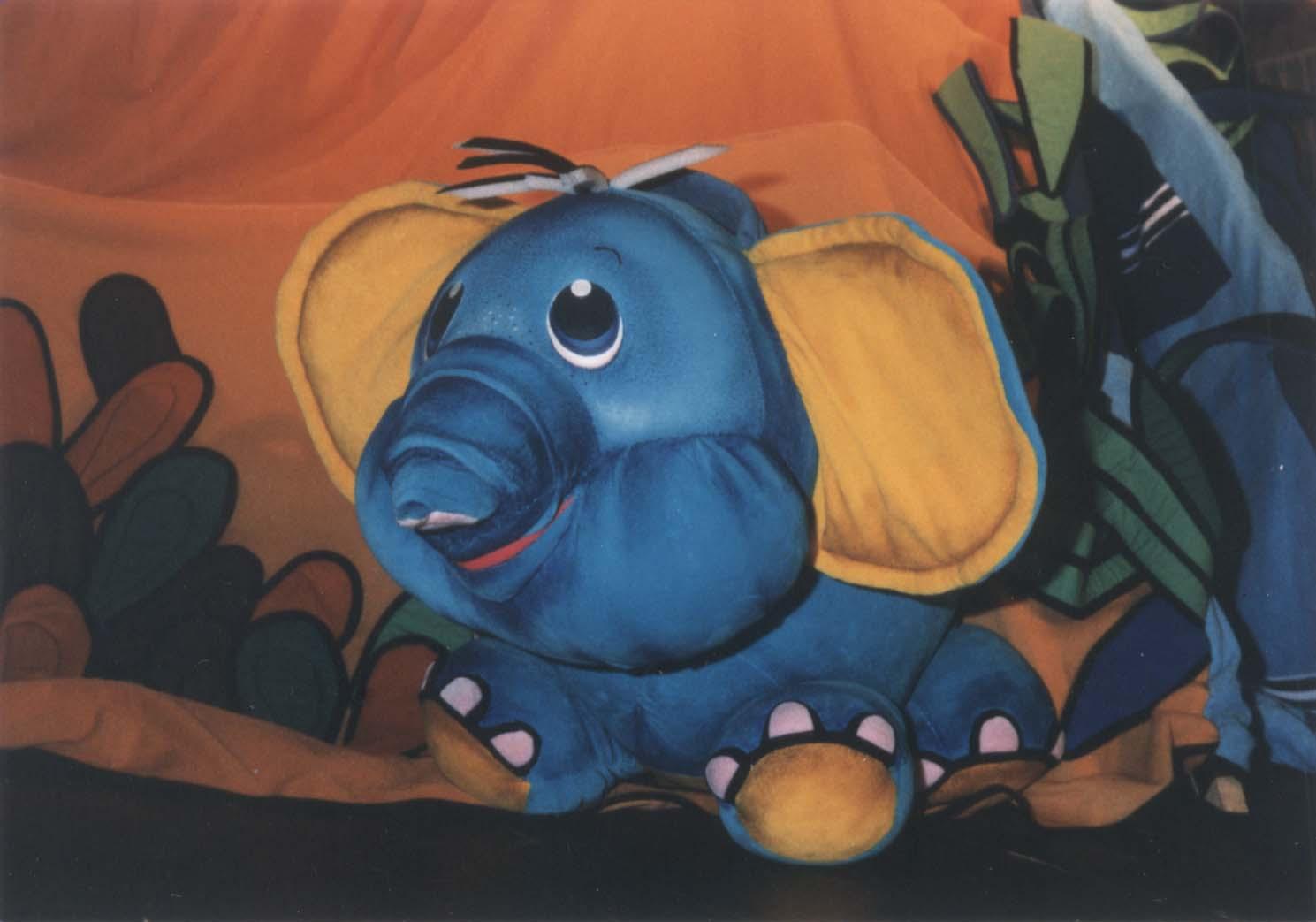 O zvědavém slůněti aneb Jak sloni k chobotu přišli
