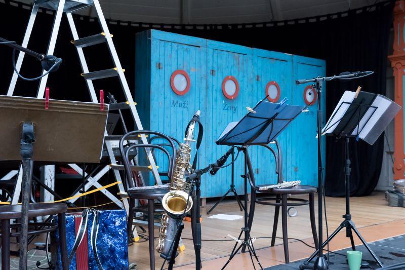 V červenci hrajeme v zahradě Werichovy vily na Kampě (OPEN AIR)