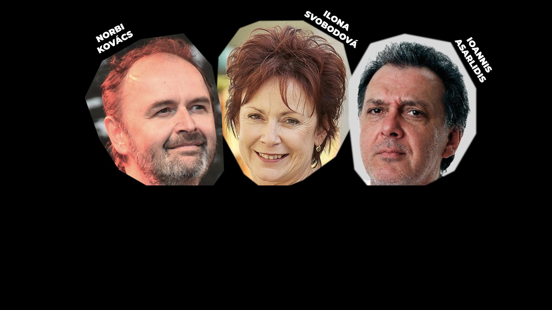 TŘI U STOLU – Norbi Kovács, Ioannis Asarlidis a Ilona Svobodová – záznam