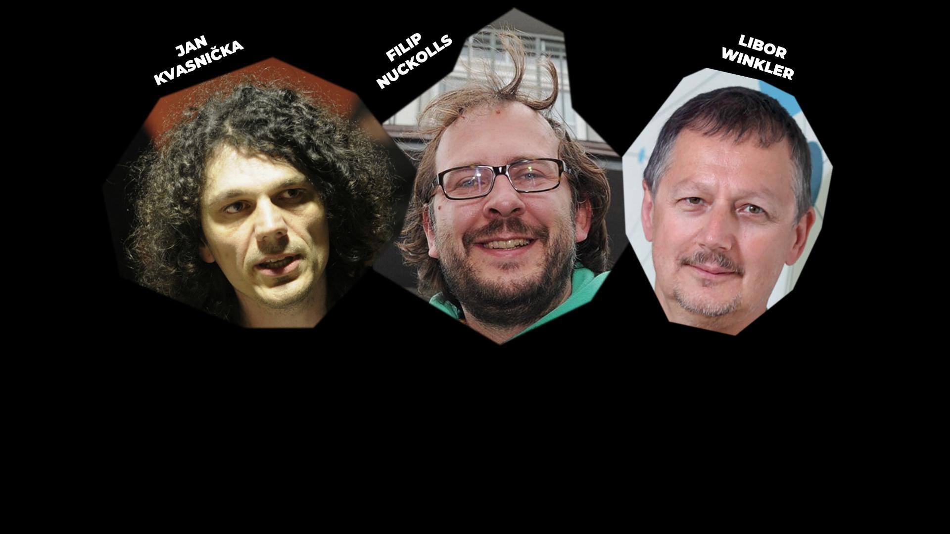 TŘI U STOLU – Libor Winkler, Jan Kvasnička a Filip Nuckolls – záznam