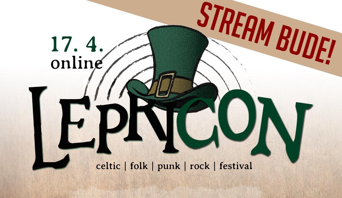 LEPRICON 2021 – Online festival celtic-folk-punk-rockové hudby – livestream